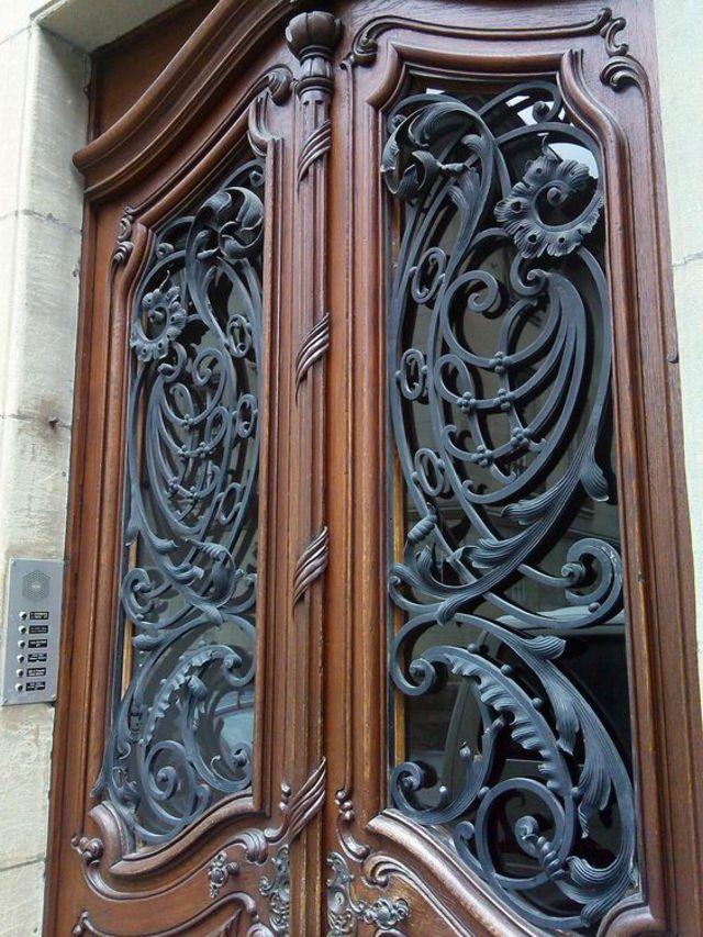 mẫu cửa sắt đẹp 12