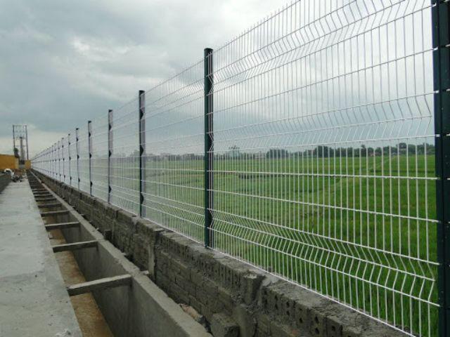mẫu hàng rào sắt chống trộm 21
