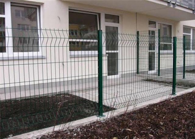 mẫu hàng rào sắt chống trộm 23