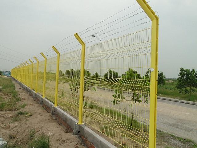 mẫu hàng rào sắt chống trộm 24