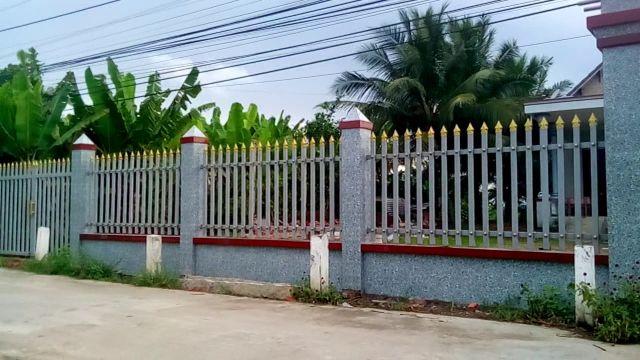 mẫu hàng rào sắt chống trộm 26