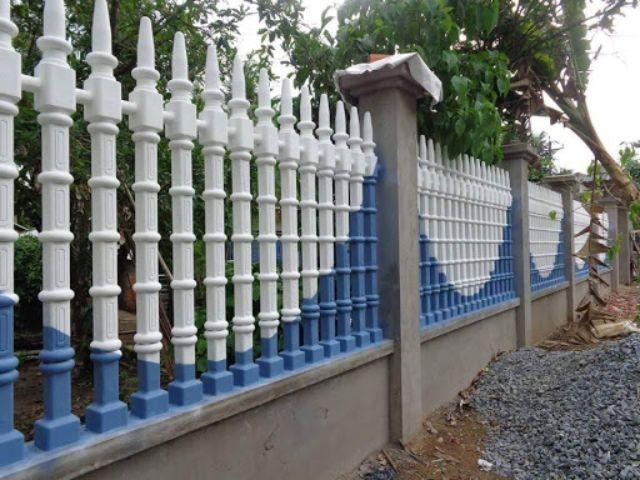 mẫu hàng rào sắt chống trộm 30