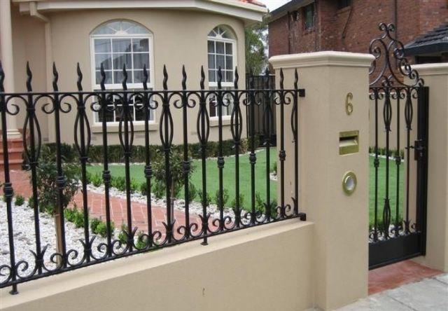 mẫu hàng rào sắt chống trộm 5