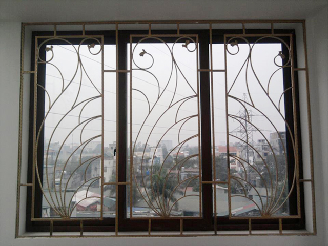 Hoa văn sắt cửa sổ 3