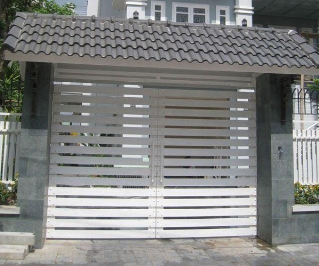 công trình thi công làm cửa sắt 1