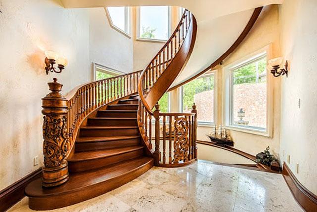 vị trí đặt cầu thang