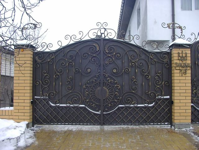 mẫu cửa sắt mỹ nghệ 6