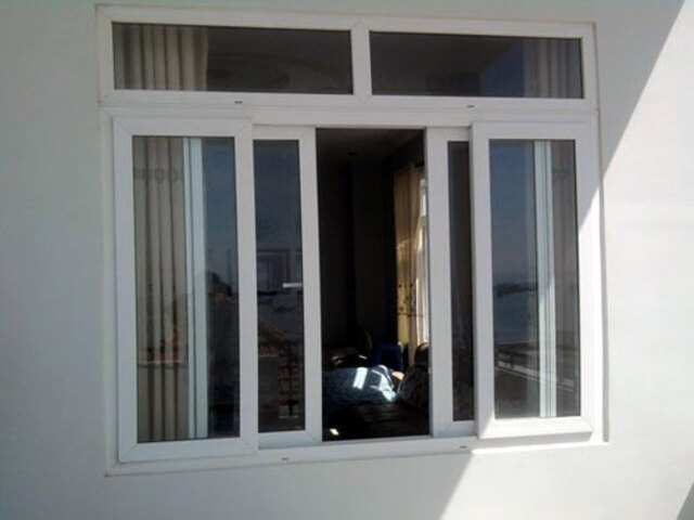 Cấu tạo của cửa sổ lùa 4 cánh