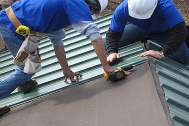 cách lợp mái tôn cho sân thượng