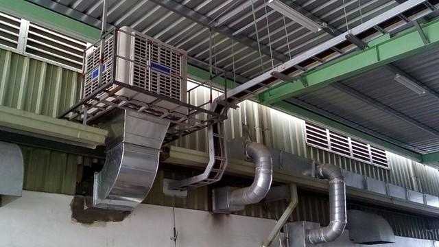 Sử dụng máy làm mát công nghiệp