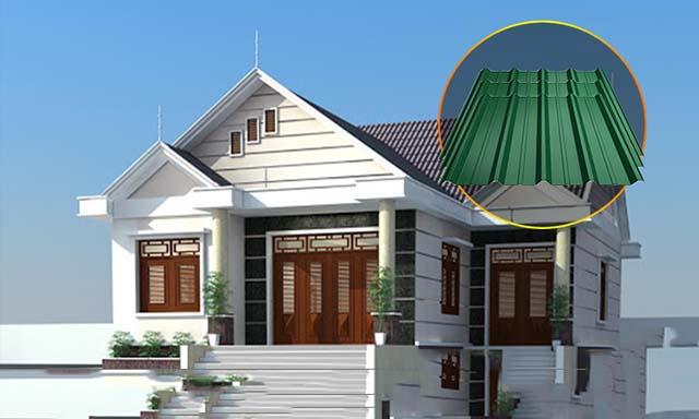 Chọn tôn lợp mái phù hợp với kiến trúc ngôi nhà