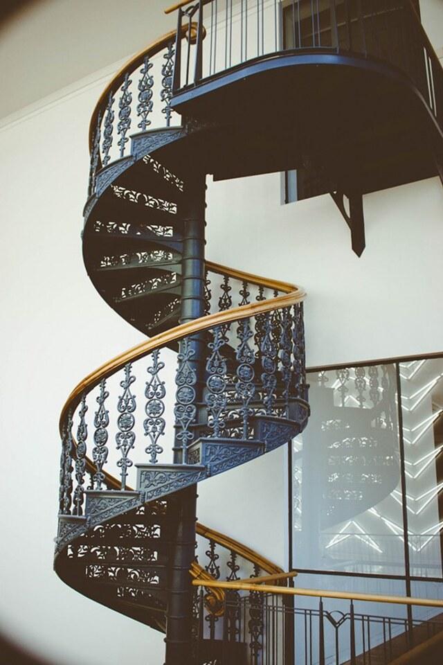 mẫu cầu thang xoắn ốc 1